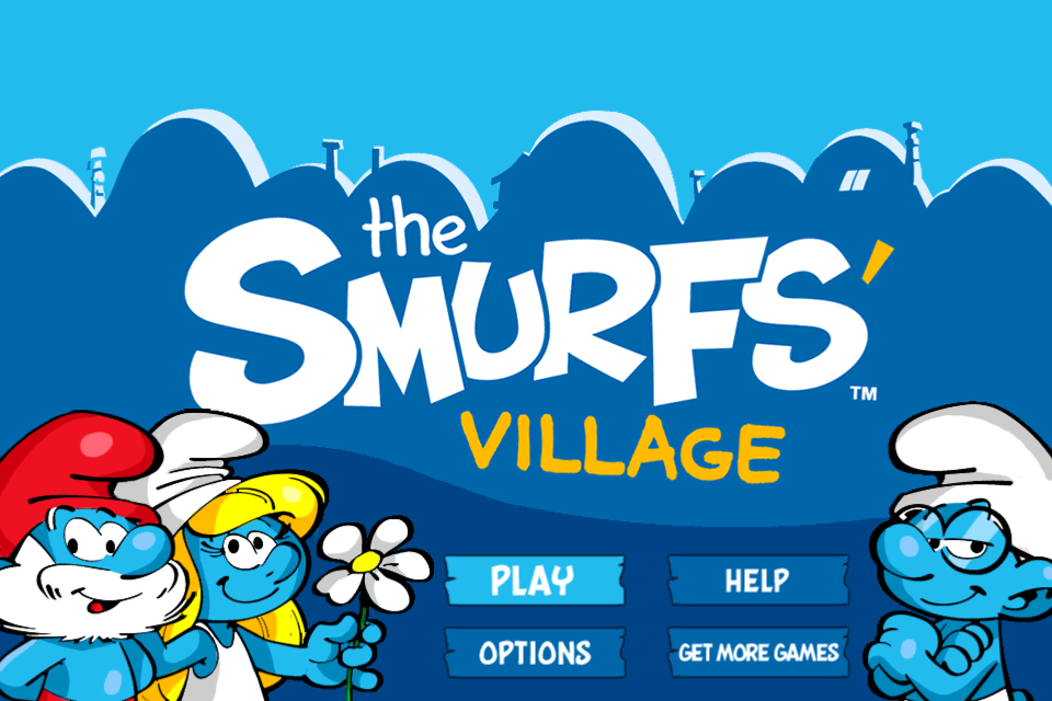 Smurfs' Village free app screenshot 1