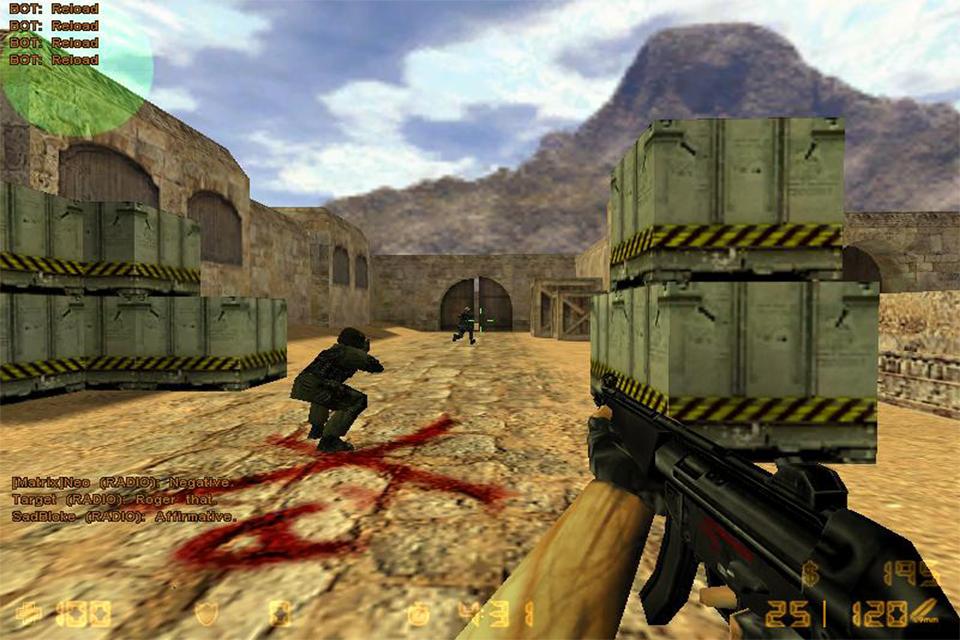Язык озвучки: английский. Разработчик: Valve Corporation. Counter strike 1