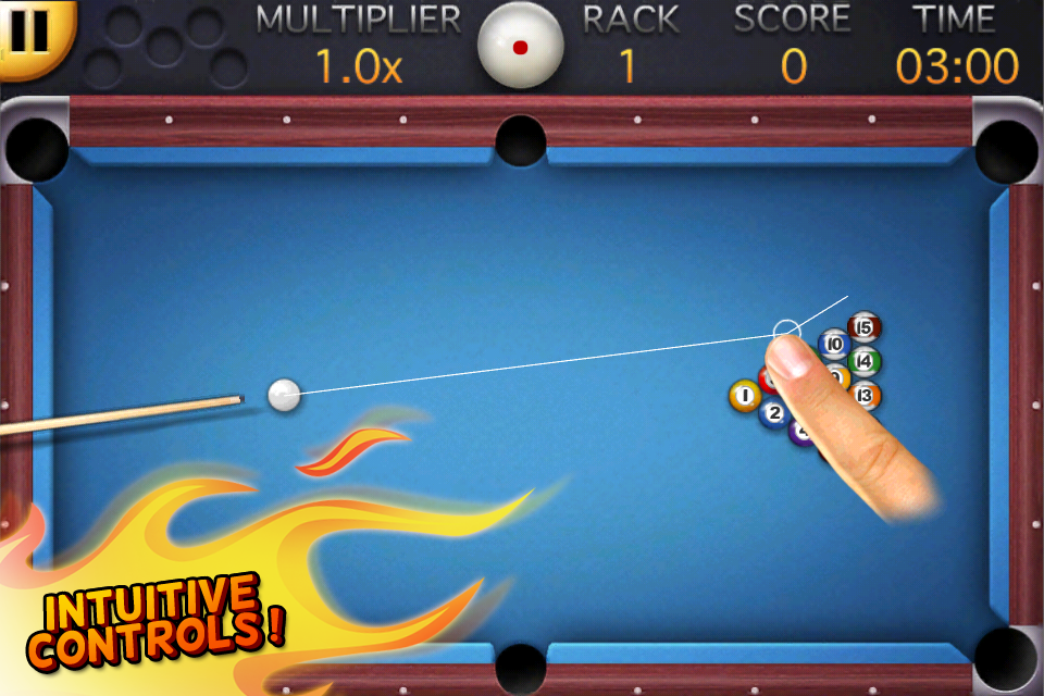 8 ball pool v1 0 sinful iphone for Pool game show