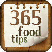 365 food tips icon