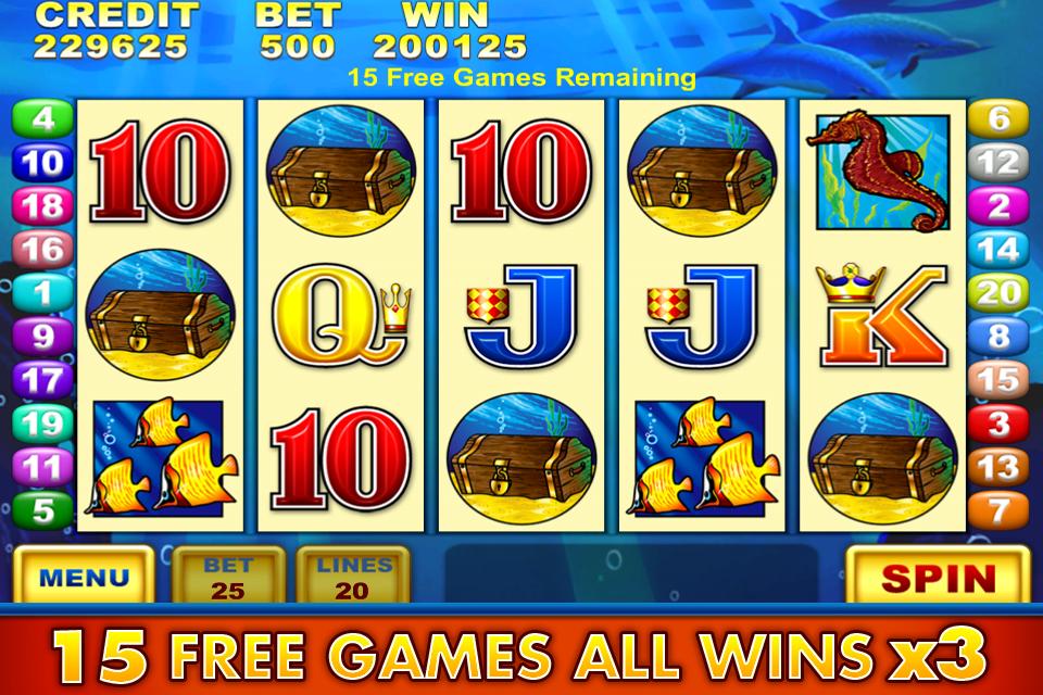 Dolphin treasure slots free download