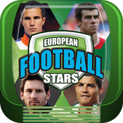 EUROPEAN FOOTBALL STARS TOP TRUMPS icon