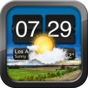 Night Stand for iPad - Free Alarm Clock, Weather & RSS Reader icon
