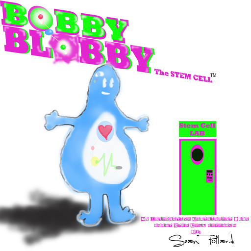 BOBBY BLOBBY the STEM CELL 3D Interactive Game App for Early Learners