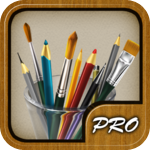 MyBrushes Pro - Paint Draw Scribble Sketch Doodle on Unlimited Size Canvas - Entertainment - Drawing - iPad - By effectmatrix