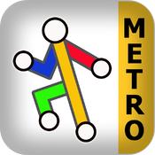 Tyne & Wear Metro for iPad by Zuti icon