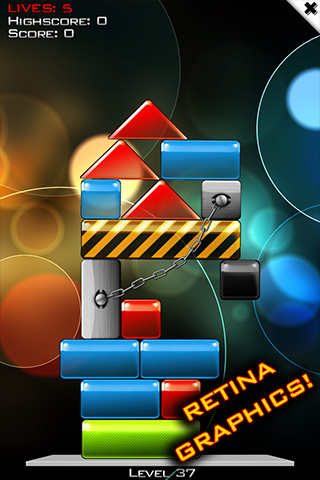 Glass Tower 3: Can You Save All the Red Blocks?
