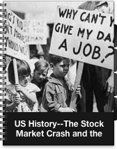us stock market collapse led to the great depression The us stock market crash of 1929 which had long underwritten the global financial system and had led the return to the gold standard the great depression caused the united states government to pull back from major international involvement during the 1930s.