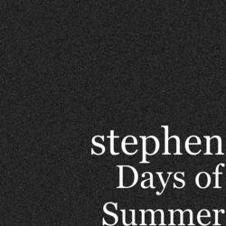 View album Stephen - Days of Summer - EP