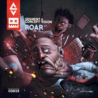 Roar (feat. Cod3x) – EP – Segment & Concept Vision