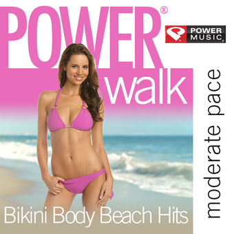 Power Walk – Bikini Body Beach Hits: 42 Min Non-Stop Workout (123-134 BPM Perfect for Moderate Paced Walking, Elliptical, Cardio Machines and General Fitness) – Power Music Workout