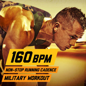 160 BPM Non-Stop Running Cadence Military Workout – U.S. Drill Sergeant Field Recordings