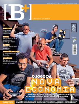 Revista [B+] LOGO-APP點子