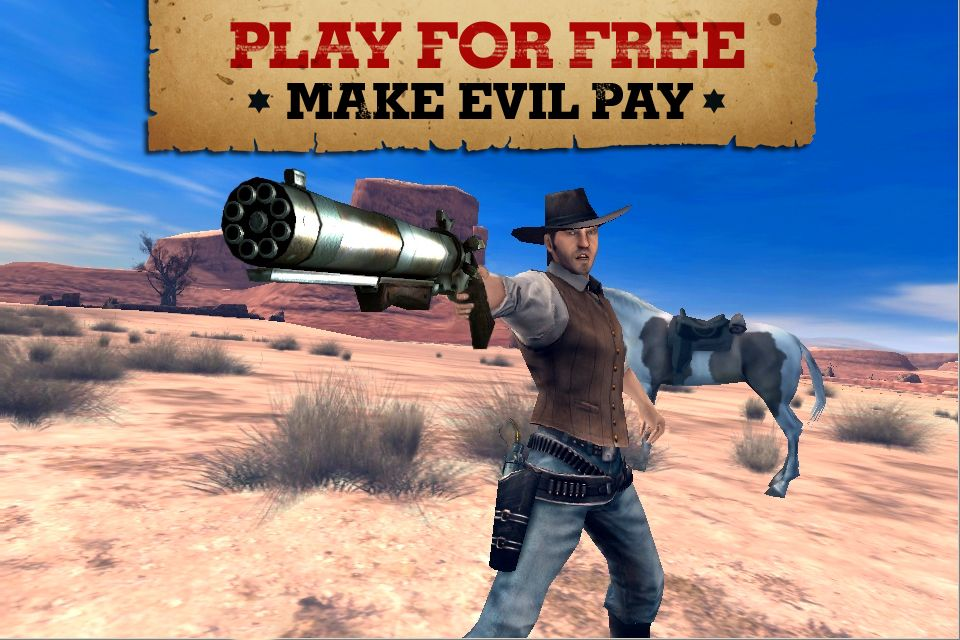 Six-Guns GAMEPLAY iPhone, iPod Touch and iPad как взломать игру six gun