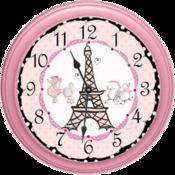 paris-girls-clock