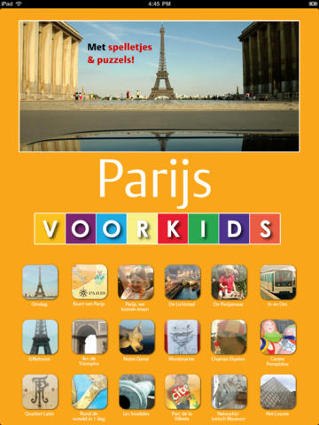Parijs voor Kids - Dutch for iPad