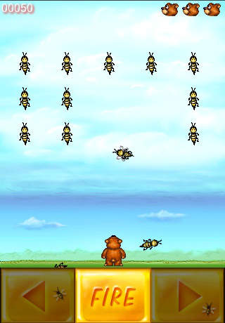 Bee Invaders screenshot 1