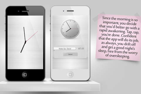 Elegant Free Alarm Clock aka Nanosec