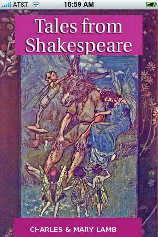 Illustrated Tales from Shakespeare (with color illustrations) iPhone Screenshot 1