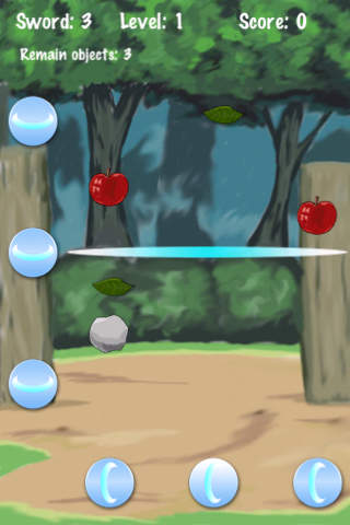 Sword Of Ninja Lite iPhone Screenshot 4