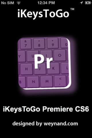 iKeysToGo: Premiere CS6