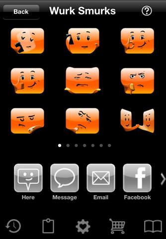 Smurks iPhone Screenshot 4