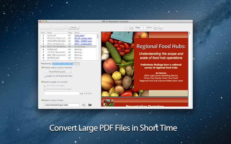 PDF to PowerPoint Converter Screenshot - 3