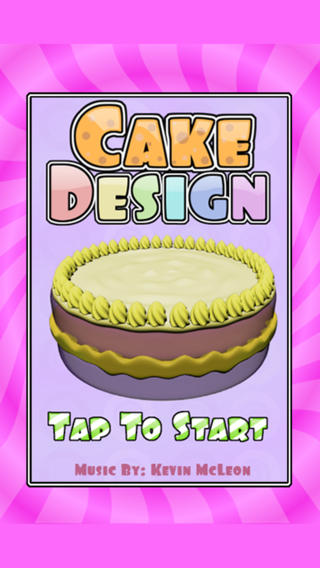 Cake Design - Making Cakes Fun! iPhone Screenshot 2