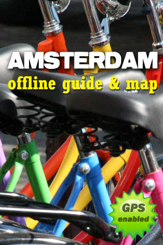 Amsterdam Offline Guide Map