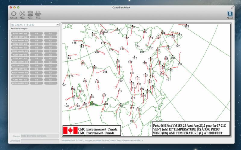 """CanadianAvioX - 加拿大航空气象数据[OS X]丨""""反""""斗限免"""