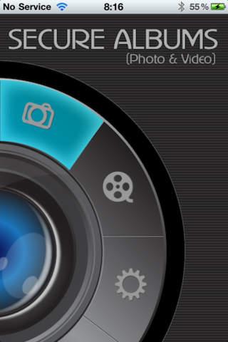 Secure Album Photos Videos