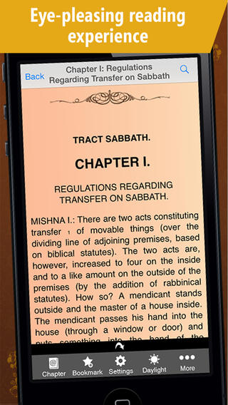 The Babylonian Talmud - 10 Book Edition iPhone Screenshot 4
