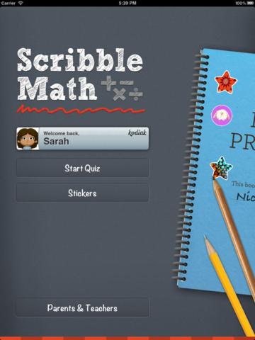 ScribbleMath
