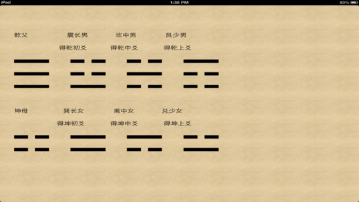 Wild cranes old man divination encyclopedia Apps free for iPhone/iPad screenshot