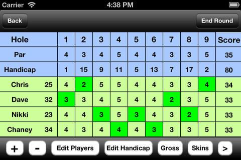 Twisted Dune Golf Club screenshot 3