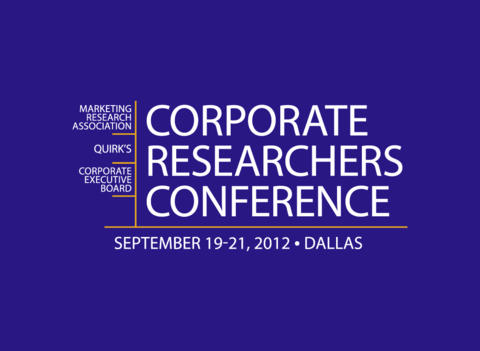 The 2012 Corporate Researchers Conference HD
