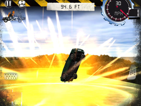 Top Gear: Stunt School HD iPad Screenshot 4