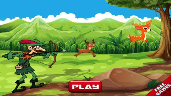 Bow Arrow Deer Hunter Challenge