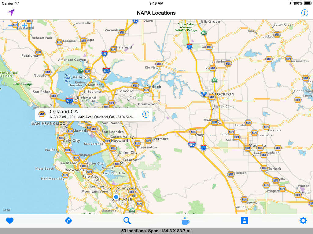 App Shopper NAPA Auto Part Store Locations Travel