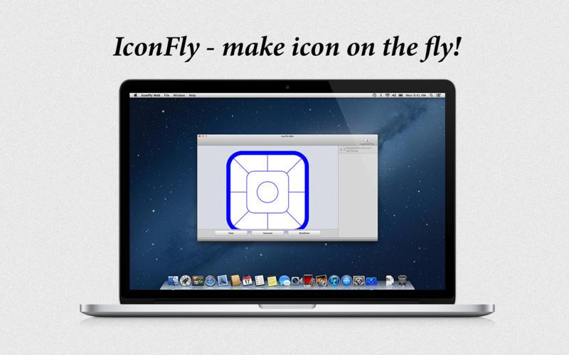 IconFly Web for Mac screenshot
