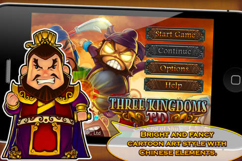 Three kingdoms td legend of shu on the app store