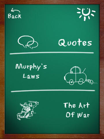 Quotes Murphy's Laws and Art of War HD
