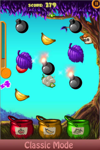 Twistum Free - Addictive Fruit Matching Puzzle Game iPhone Screenshot 1