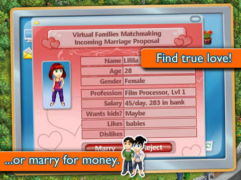 Virtual Families Cheats For Ipad