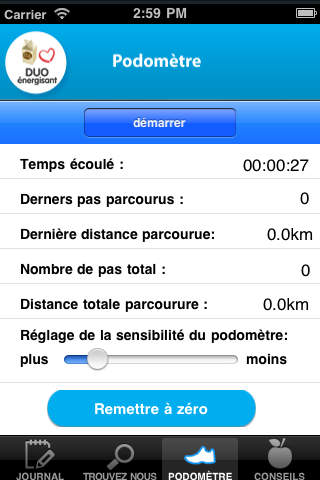 Duo Énergisant iPhone Screenshot 4