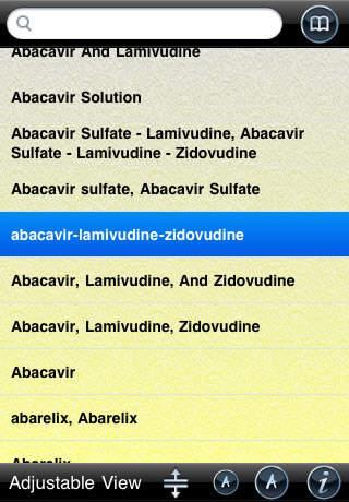Drug Interactions (A-z) screenshot 3