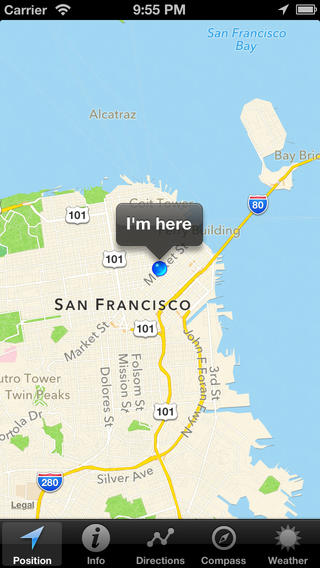 I'm here - Everywhere your location