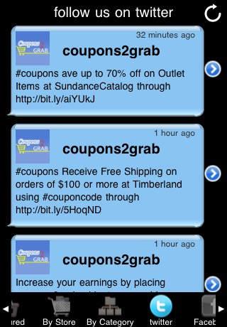 Coupons2Grab iPhone Screenshot 5