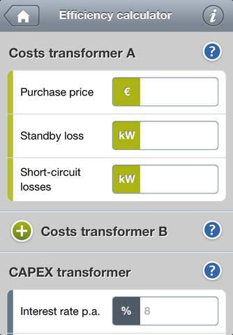 Transformers Calculator