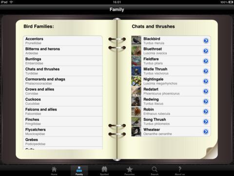 Bird Identifier HD iPad Screenshot 2